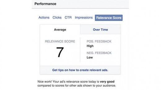 ציון איכות למודעות – עכשיו גם בפייסבוק